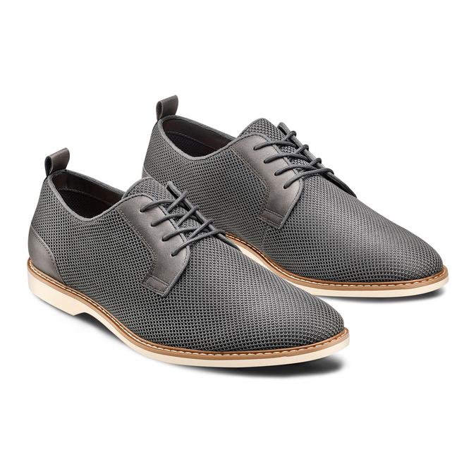 Men's shoes, Gris, 829-2427 - 16
