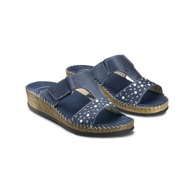 Women's shoes, Violet, 574-9438 - 16