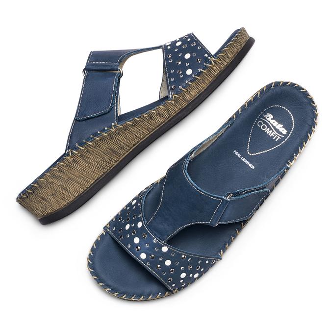 Women's shoes, Violet, 574-9438 - 26