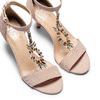 Women's shoes insolia, Beige, 769-0154 - 26