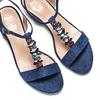 Women's shoes insolia, Bleu, 669-9131 - 26