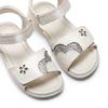 Childrens shoes mini-b, Blanc, 261-1144 - 26