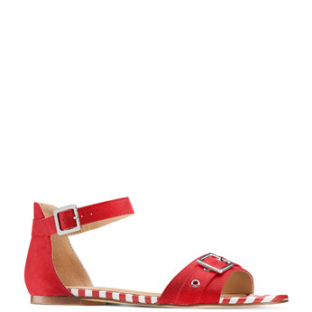 Women's shoes insolia, Rouge, 569-5277 - 13