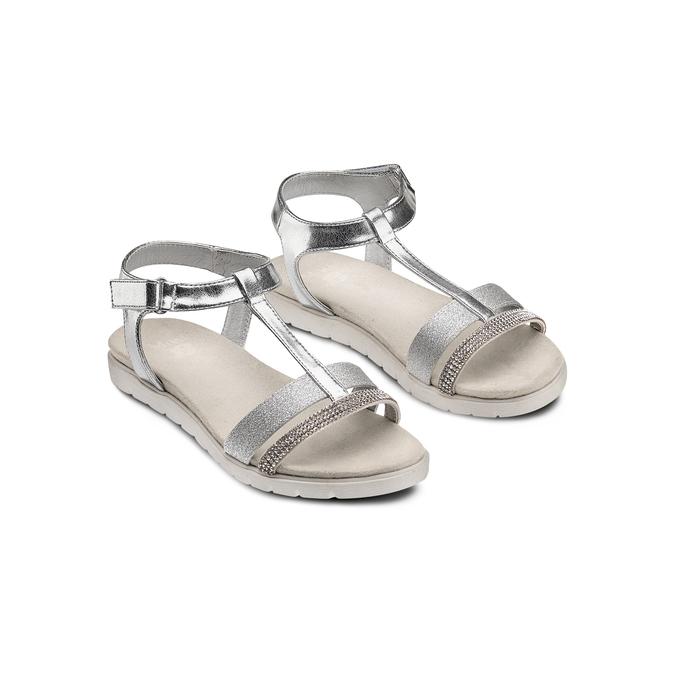 Childrens shoes mini-b, Blanc, 361-1171 - 16