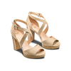 Women's shoes insolia, Jaune, 769-8263 - 16