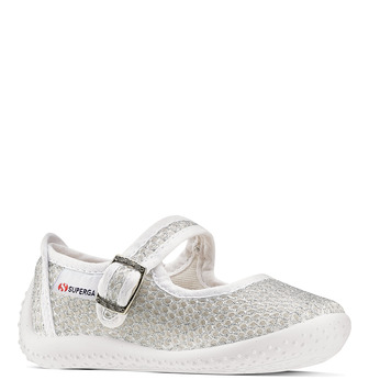 Childrens shoes superga, Blanc, 269-1107 - 13