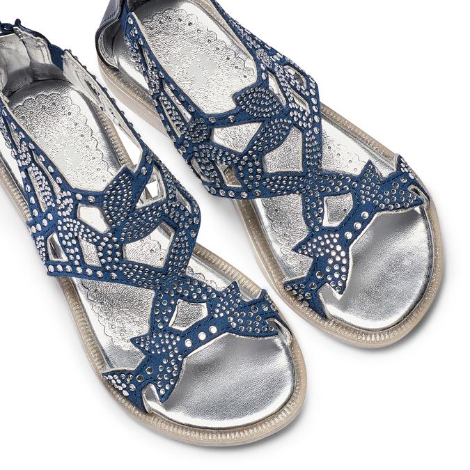 Childrens shoes mini-b, Violet, 363-9247 - 26