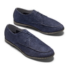 Men's shoes bata, Bleu, 853-9160 - 26