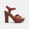 Women's shoes insolia, Brun, 761-3254 - 13