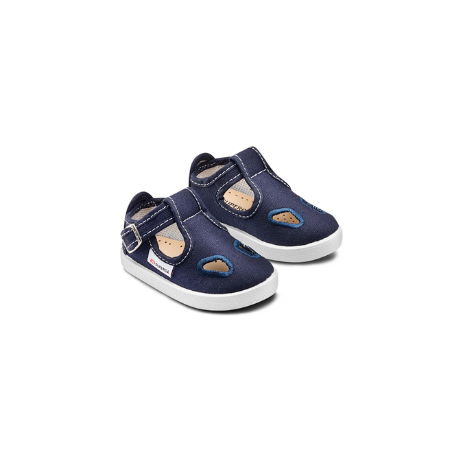 CHILDRENS SHOES superga, Bleu, 169-9343 - 16