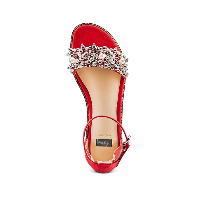 Women's shoes bata, Rouge, 569-5208 - 17