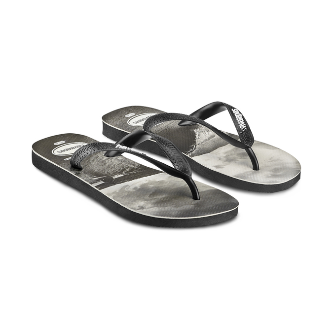Men's shoes havaianas, Noir, 872-6273 - 16