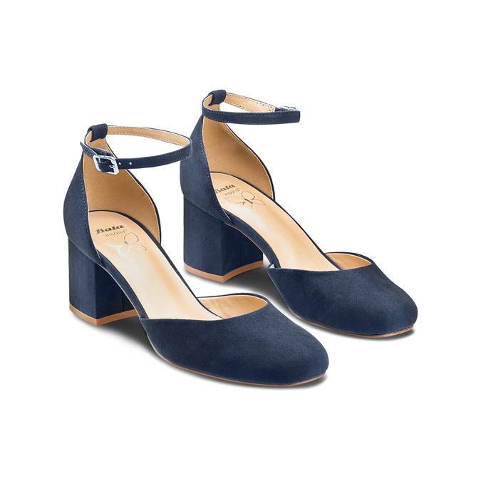 Women's shoes insolia, Bleu, 729-9208 - 16