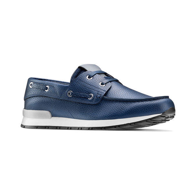 Men's shoes bata, Bleu, 844-9399 - 13