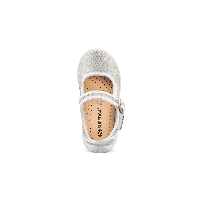 Childrens shoes superga, Blanc, 269-1107 - 17