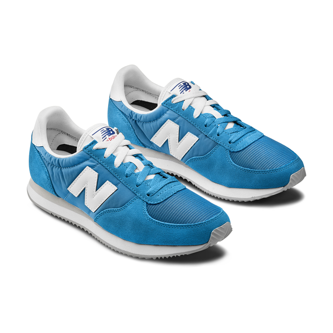 Men's shoes new-balance, Bleu, 809-9320 - 16