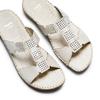 Women's shoes, Blanc, 574-1439 - 26