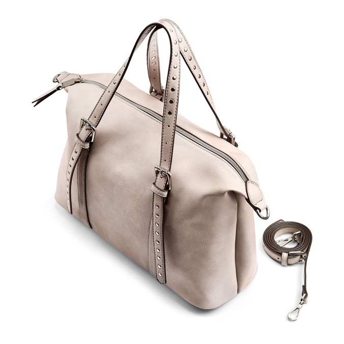 Bag bata, Gris, 961-2228 - 17