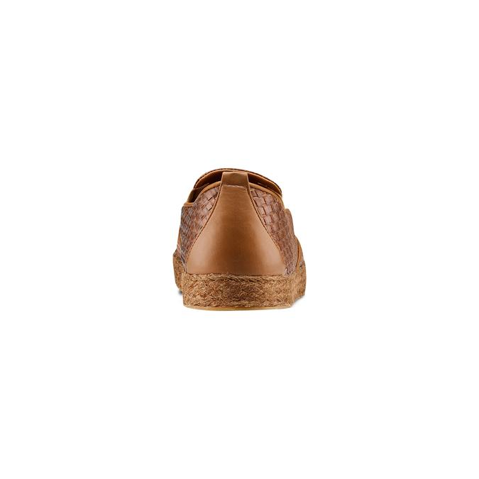 Men's shoes bata, Brun, 851-3187 - 15