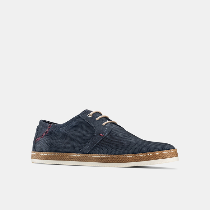 Men's shoes bata, Bleu, 853-9201 - 13