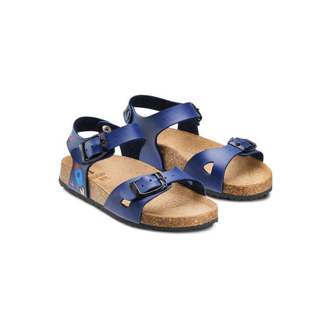 Childrens shoes mini-b, Bleu, 261-9210 - 16