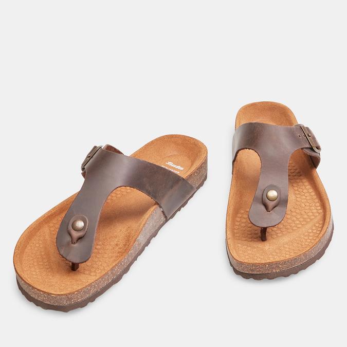 BATA Chaussures Homme bata, Brun, 866-4239 - 26