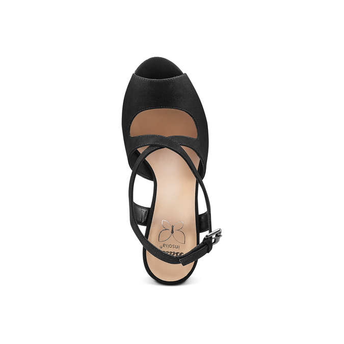Women's shoes insolia, Noir, 769-6255 - 17