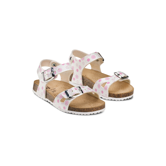 Childrens shoes mini-b, Blanc, 261-1212 - 16