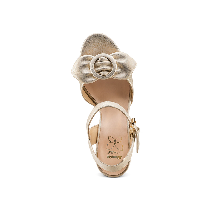 Women's shoes insolia, Jaune, 761-8175 - 17