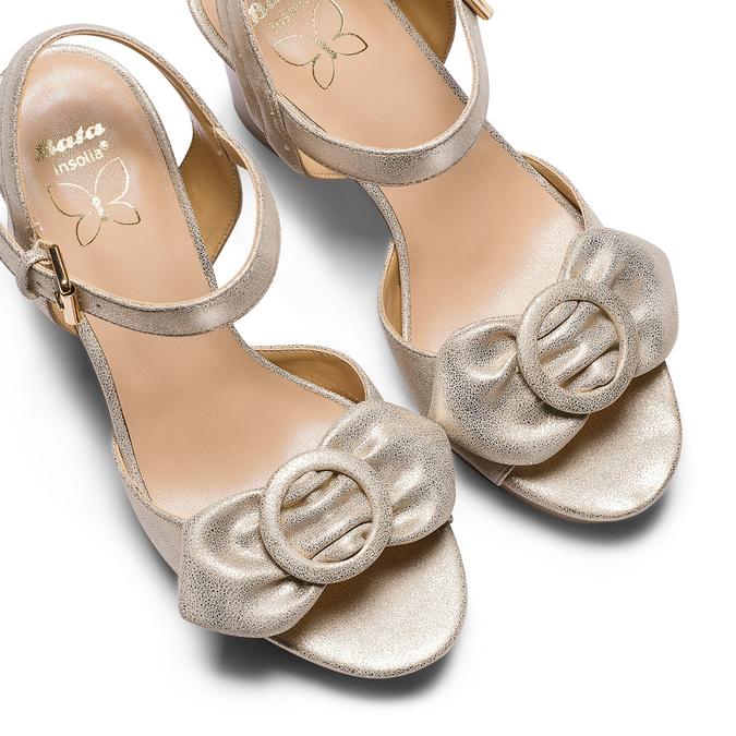 Women's shoes insolia, Jaune, 761-8175 - 26
