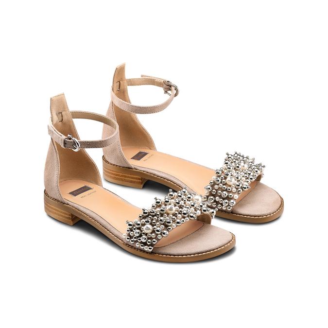 Women's shoes bata, Jaune, 569-8208 - 16