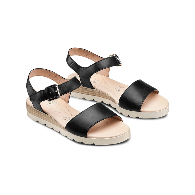 BATA TOUCH ME Chaussures Femme bata-touch-me, Noir, 664-6298 - 16