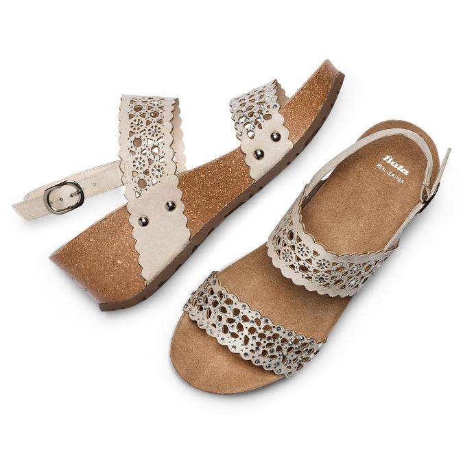 BATA Chaussures Femme bata, Jaune, 669-8356 - 26
