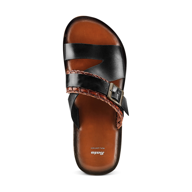 Men's shoes bata, Noir, 864-6175 - 17