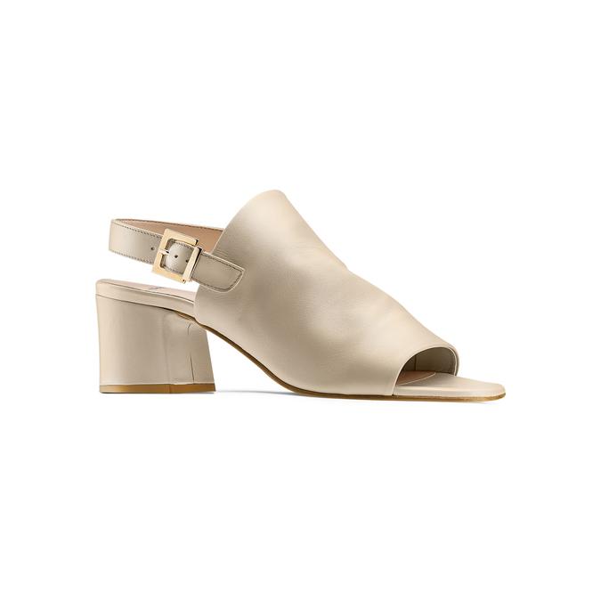 Women's shoes bata, Jaune, 764-8218 - 13