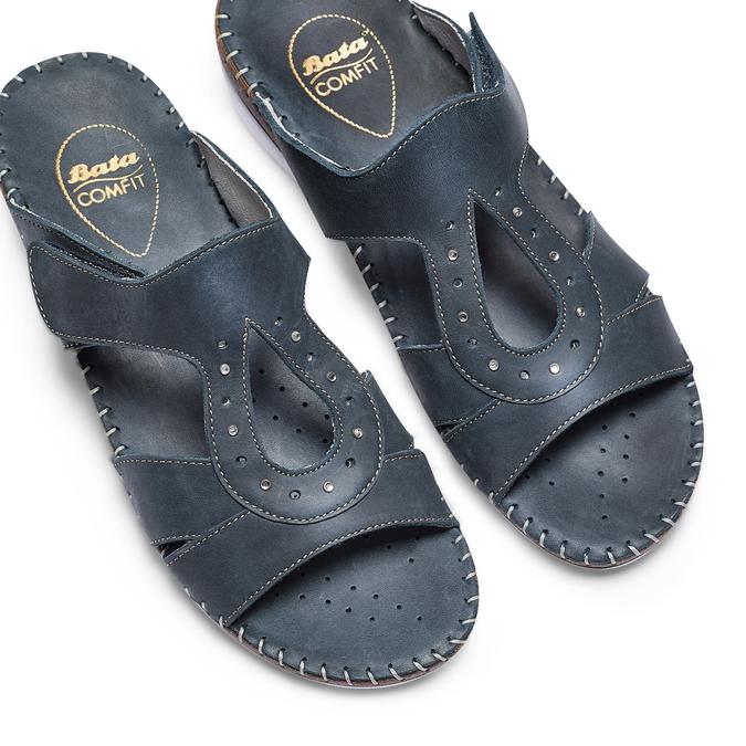 Men's shoes bata, Violet, 666-9128 - 26