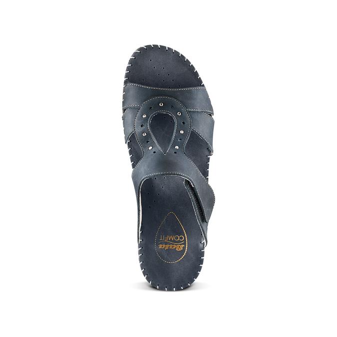 Men's shoes bata, Violet, 666-9128 - 17