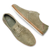 Men's shoes bata, Vert, 853-7201 - 26