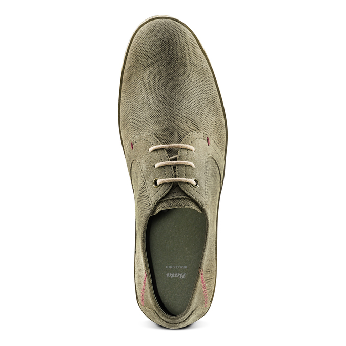Men's shoes bata, Vert, 853-7201 - 17