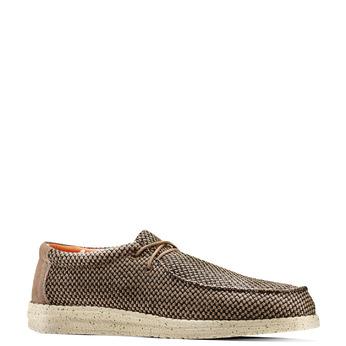 Men's shoes bata, Brun, 859-3199 - 13