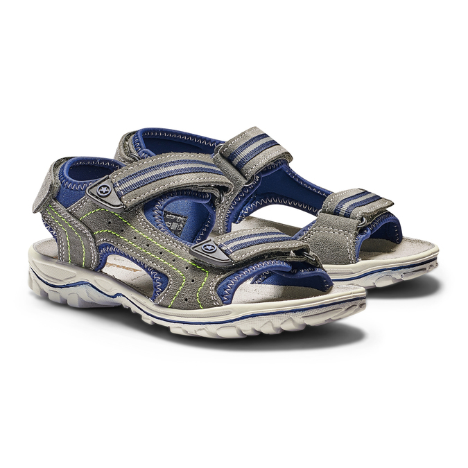 Childrens shoes weinbrenner-junior, Gris, 463-2102 - 26