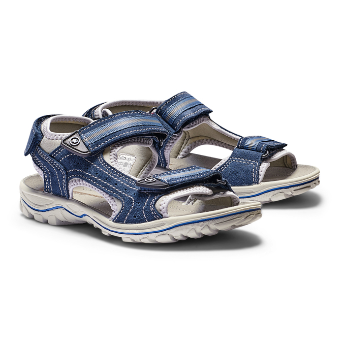 Childrens shoes weinbrenner-junior, Bleu, 463-9102 - 26