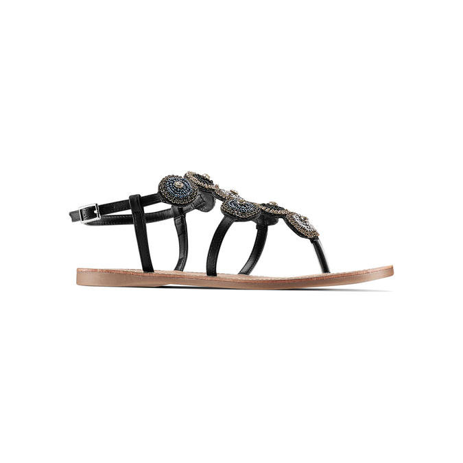 Women's shoes bata, Noir, 561-6541 - 13