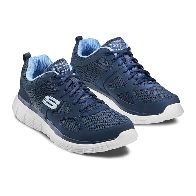 SKECHERS  Chaussures Homme skechers, Bleu, 809-9805 - 16