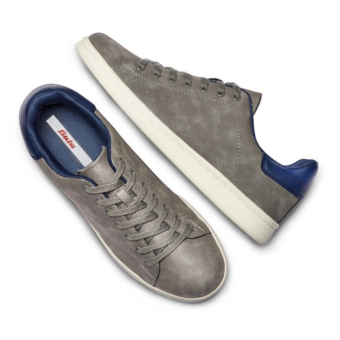 BATA Chaussures Homme bata, Gris, 841-2498 - 26