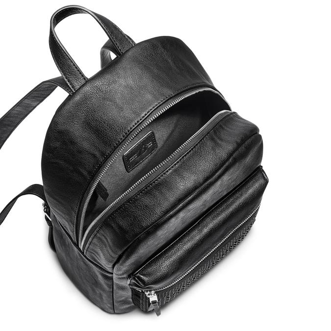 Backpack bata, Noir, 961-6496 - 16