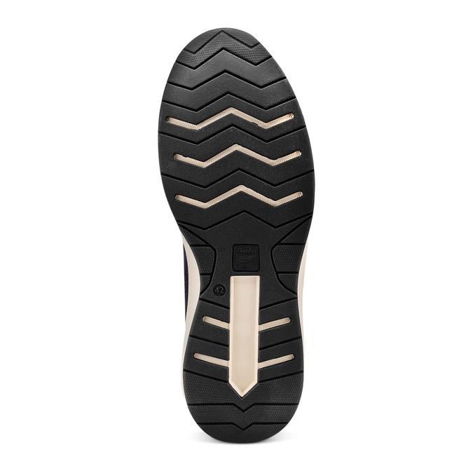 Men's shoes bata-light, Bleu, 843-9418 - 19