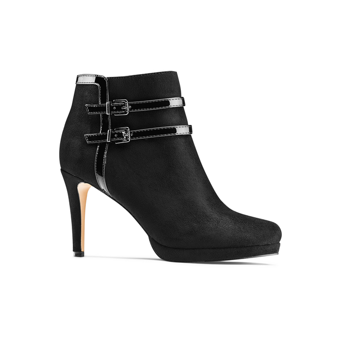 Women's shoes insolia, Noir, 799-6315 - 13