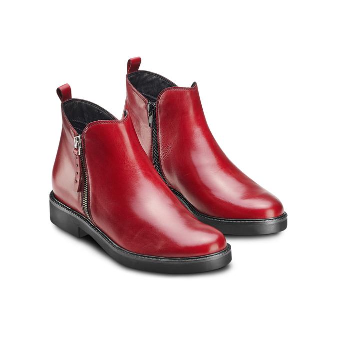 Women's shoes bata, Rouge, 594-5935 - 16