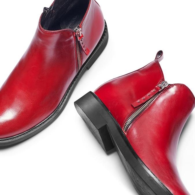 Women's shoes bata, Rouge, 594-5935 - 26
